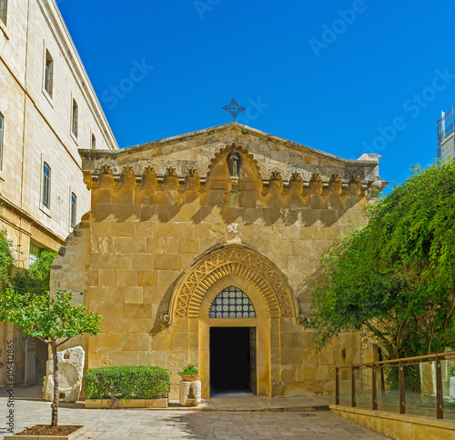 The Church of the Flagellation Fototapet