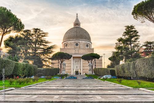 Tablou Canvas Church of Santi Pietro e Paolo in Rome, Italy