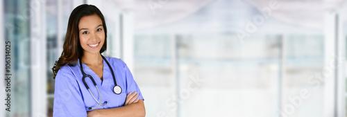 Fotografie, Obraz Nurse In Hospital
