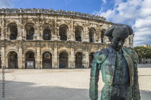 Tableau sur Toile Arena romain d'Arles, France