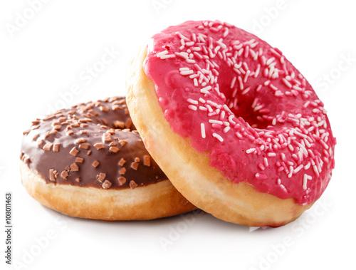 Fotografija donut isolated on white