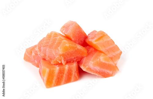 Carta da parati salmon