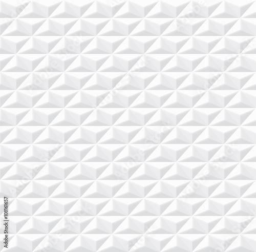 Plakat - Struktura Białych Płytek