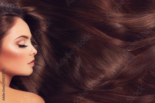Valokuva Girl with long hair