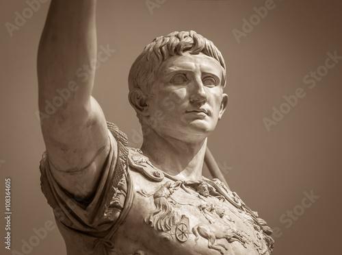 Fotografia Statue of Roman Emperor Augustus