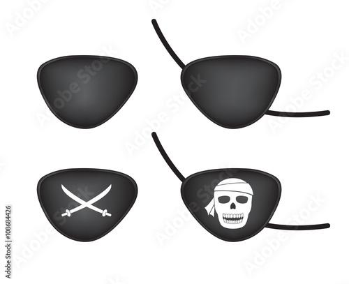 Fotografia pirate eye patch
