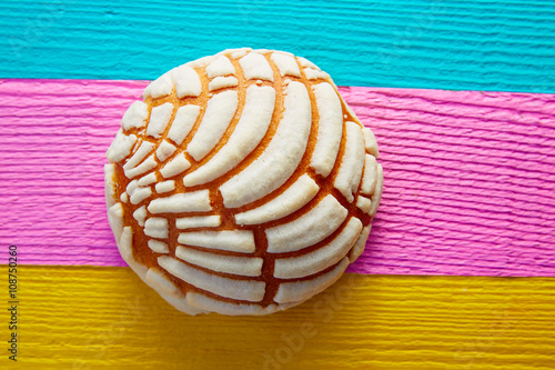 Photographie Conchas Mexican sweet bread traditional