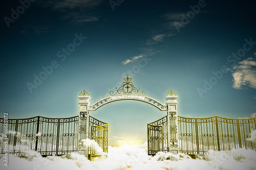 haven gate Fototapete