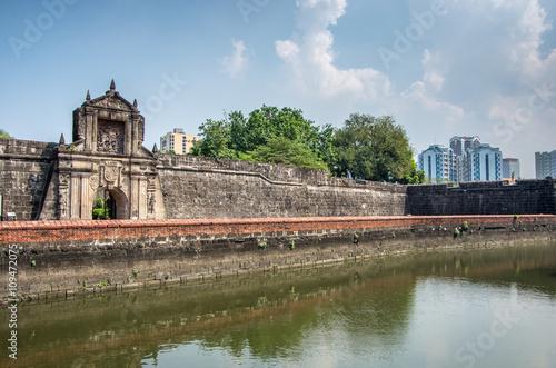 Fort Santiego Intramuros Manila, Philippines
