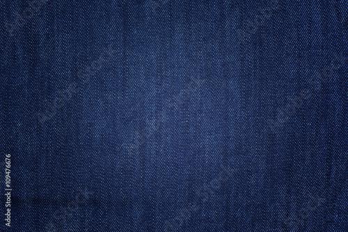 Canvas Print Blue denim background
