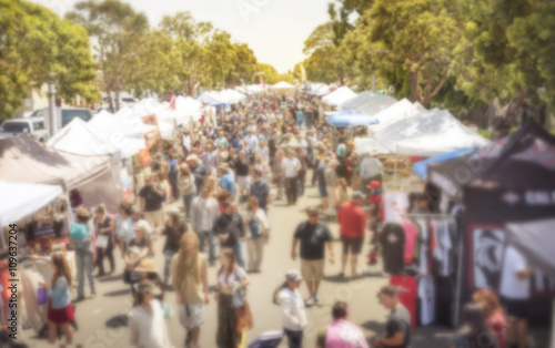 Tablou Canvas street fair