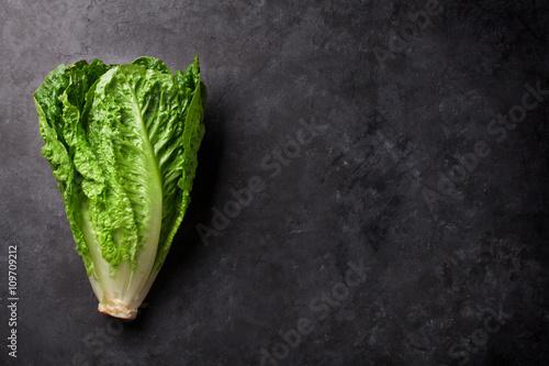 Wallpaper Mural Romaine lettuce salad