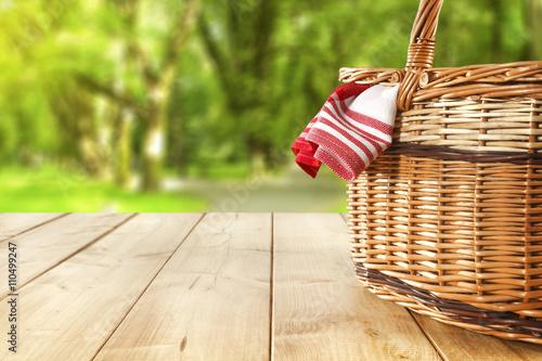 Carta da parati picnic