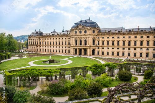 Fotografia WURZBURG, GERMANY - MAY 5: The Wurzburg Residence in Wurzburg, Germany on may 05, 2016