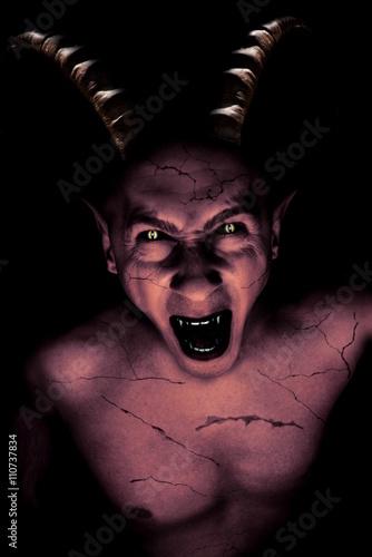 Valokuva devil vampire portrait
