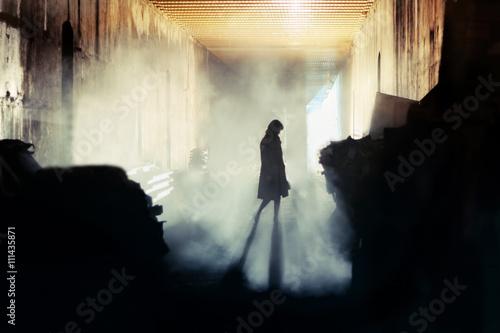 Mysterious Woman Fototapeta