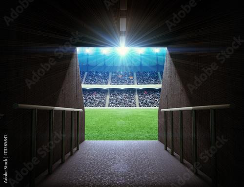 tunel stadionowy