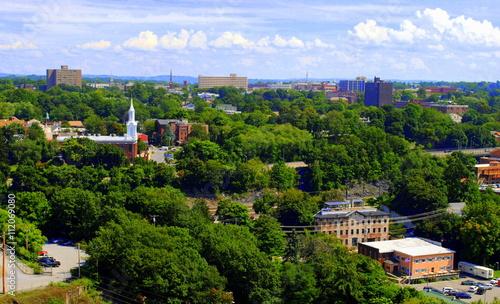 Fotografia, Obraz Poughkeepsie NY -- Sky view