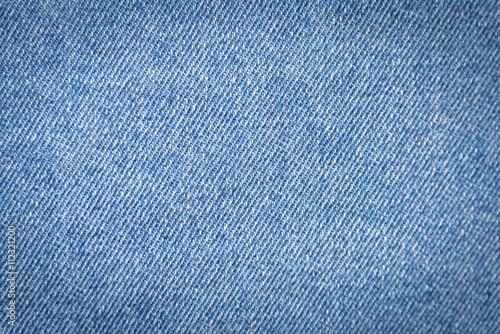Canvas Print Blue denim texture background