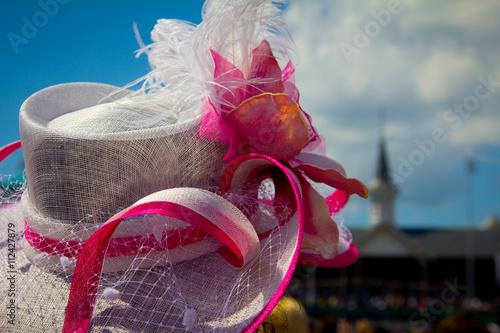 Vászonkép Kentucky Derby Hat