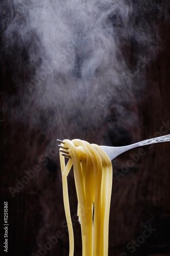 Photo Cooking delicious spaghetti
