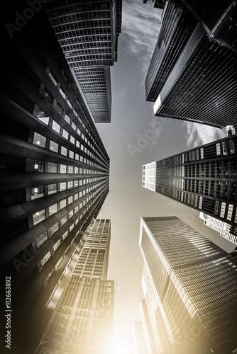 Obraz na płótnie Nowy Jork - koncepcja artystyczna