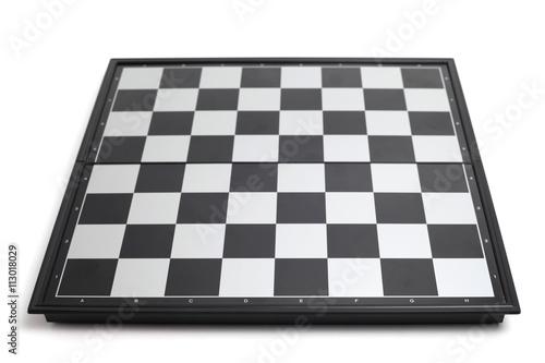 Fotomural Empty chessboard
