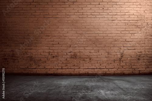 Fotografia Red brick wall background