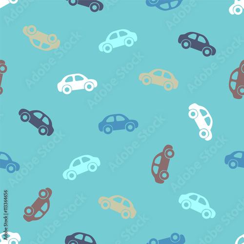 Seamless pattern - cars