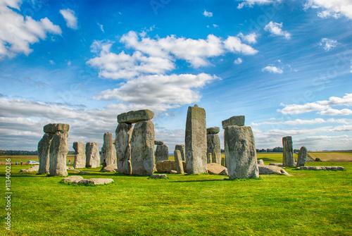 Fototapeta Stonehenge s modrou oblohou