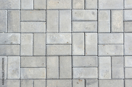 Wallpaper Mural Stone patio tiles
