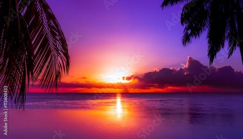 Photo Tahiti Sunset