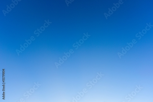Blue sky and clear, Blue sky no cloud