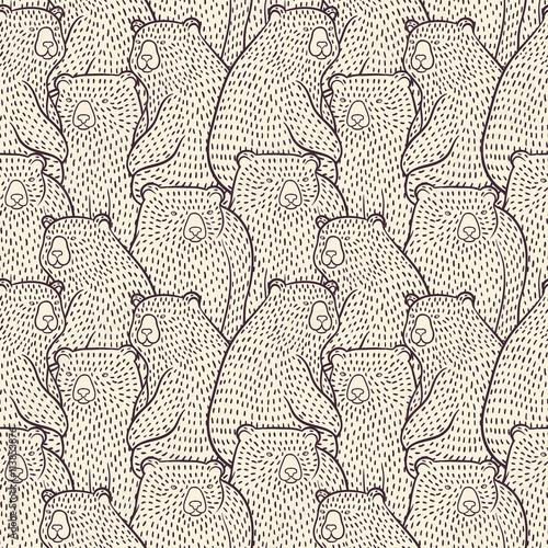 Niedźwiedzie wzór