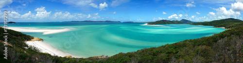 Photo Whitehaven beach in Australia Whitsundays