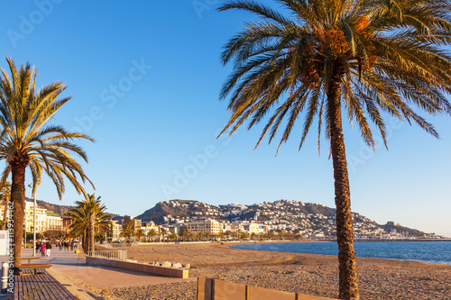 Foto The town of Roses, Costa Brava, Spain