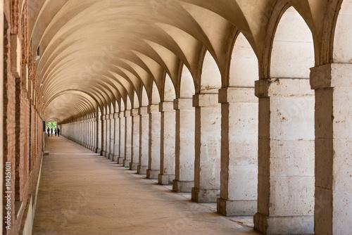 Canvas-taulu Arcades in Aranjuez, Madrid
