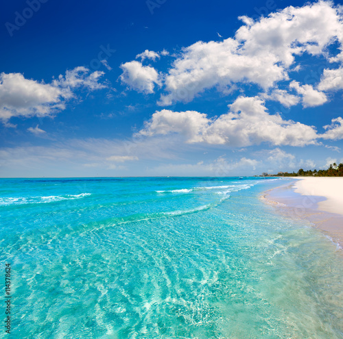 Fototapeta Florida fort Myers beach in USA