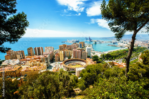 Photo Malaga in Andalusia, Spain