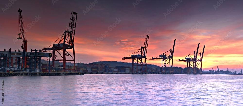 Port Gdynia.