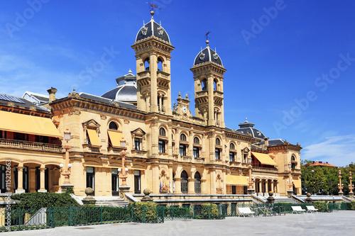 Hôtel de ville de Saint-Sébastien Fototapeta