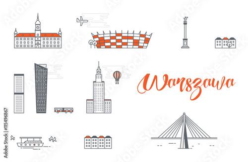 Budynki w Warszawie #115496867