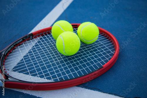 Canvas Print Tennis