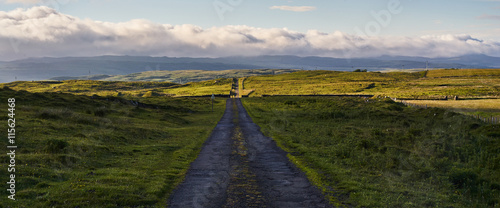 Fotografia, Obraz Strada di campagna - Islay, Scozia