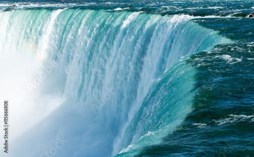 Obraz na płótnie Canadian Horseshoe Falls at Niagara