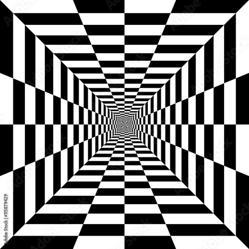 design element. black and white squares