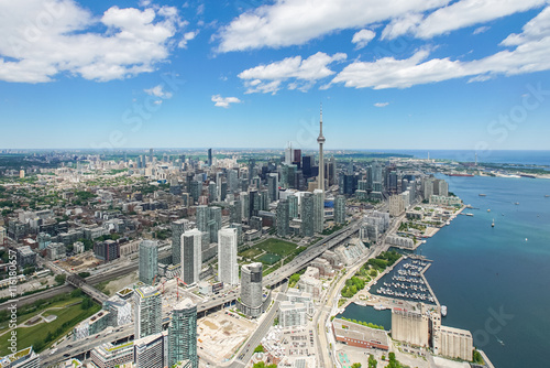 Toronto from the West