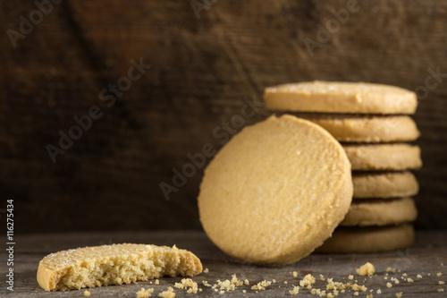 Fotografia Close up of butter biscuits