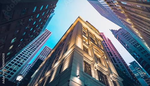 Fotografia, Obraz Modern commercial building in night