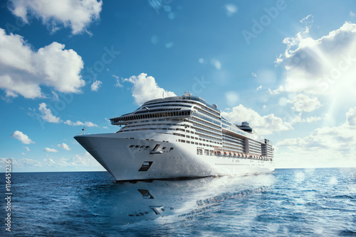 Cruise voyage Fototapet
